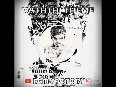 Kaththi Interview Fight Theme || Anirudh || BGM FACTORY