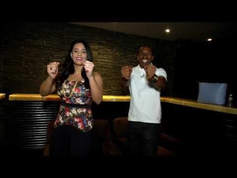 Dwayne Bravo & Mayanti Langer do the Champion dance! thumbnail
