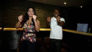 Dwayne Bravo & Mayanti Langer do the Champion dance!