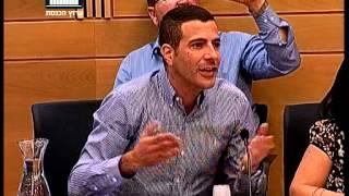 """ערוץ הכנסת - זחאלקה בדיון על הר הבית: """"יהיה פה דם"""" שרון גל: """"אנחנו הריבון"""", 16.6.15"""