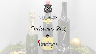 The Grand Christmas Box by Bridges Deluxe Wine Package instructions