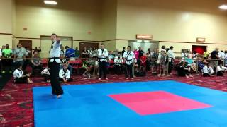 Henry Rolfe - Weapon Form 14 15 - Chun Kuk Do ITC 2014