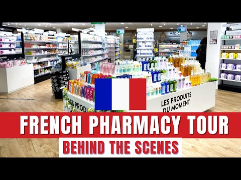 FRENCH PHARMACY tour | Behind the scenes healthcare in France