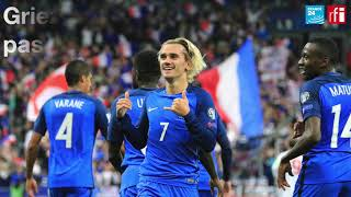 La France est qualifiée pour la Coupe du monde 2018 en Russie