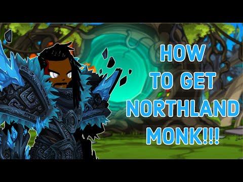 =AQW= HOW TO GET NORTHLANDS MONK CLASS | AqWorlds 2019