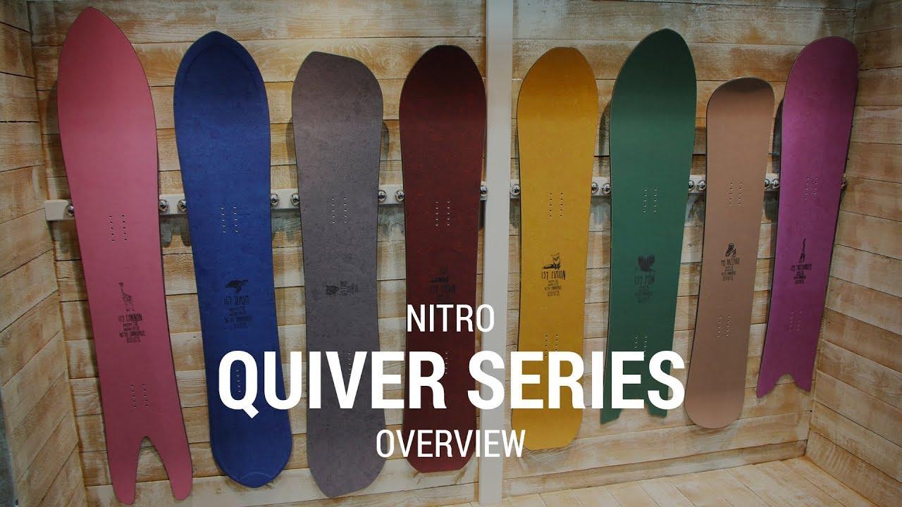 Nitro Quiver Series Line 2019 Snowboard Review - Tactics com