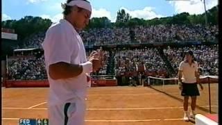 Federer-Nadal  F ROMA 2006  Best Roger