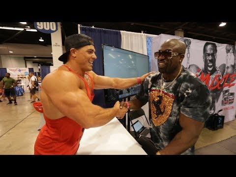 Brad Castleberry  Kali Muscle Addresses the Haters  Anaheim Fit Expo 2018 Part 1