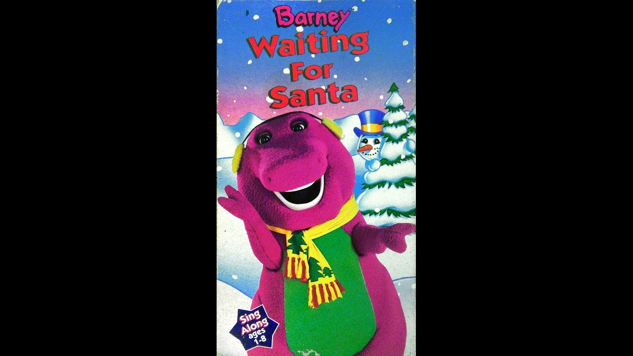 barney waiting for santa 1990 1993 vhs full in hd youtube
