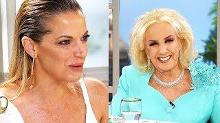 La pregunta incómoda de Mirtha Legrand a Carina Zampini