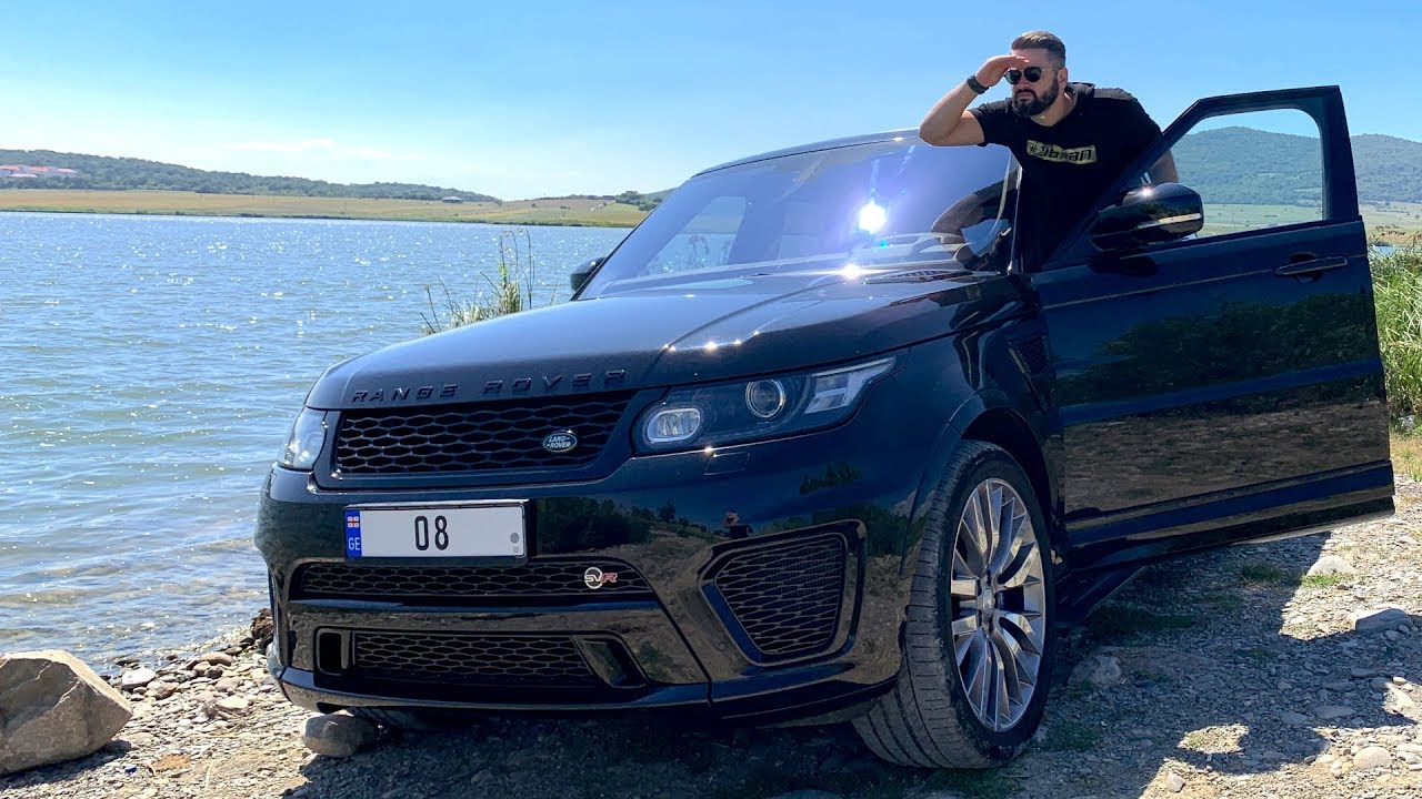 უხეში ტესტ დრაივი  Range Rover Sport SVR  დაშკივული კომპრესორი