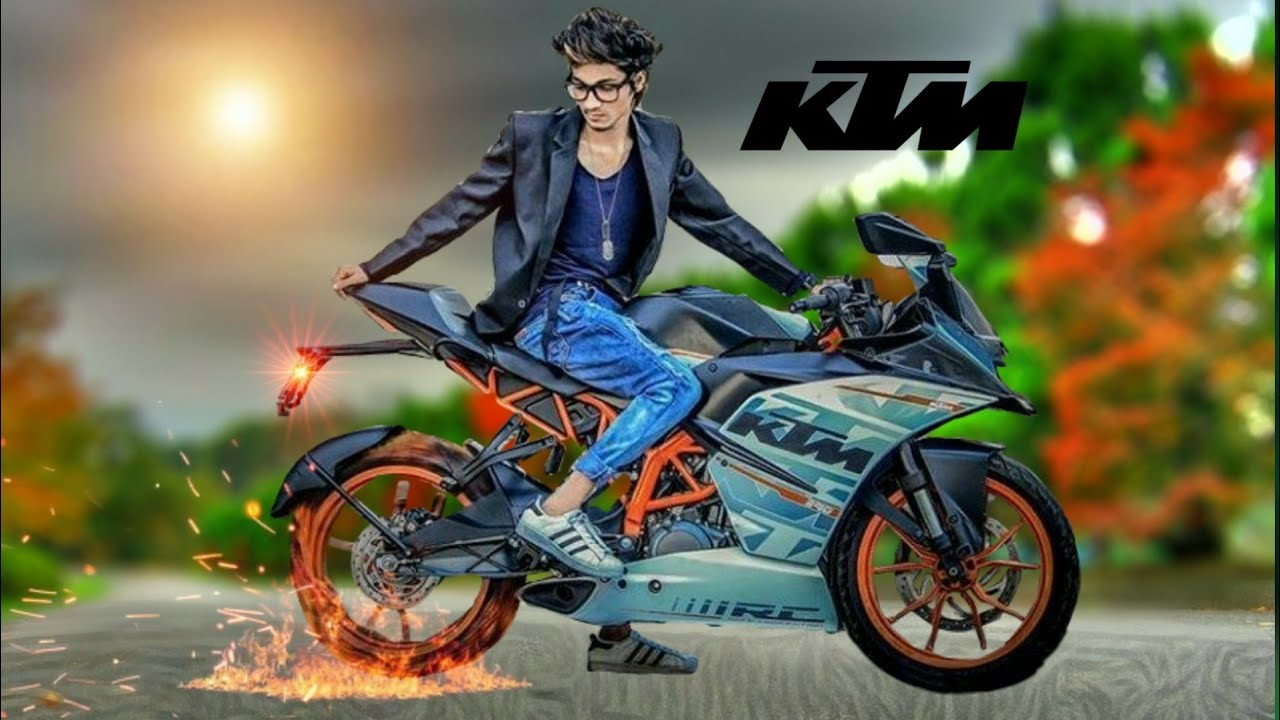 Background Images For Editing Hd Bike: KTM Bike PicsArt Editing ! HDR +blur+ DSLR Effects