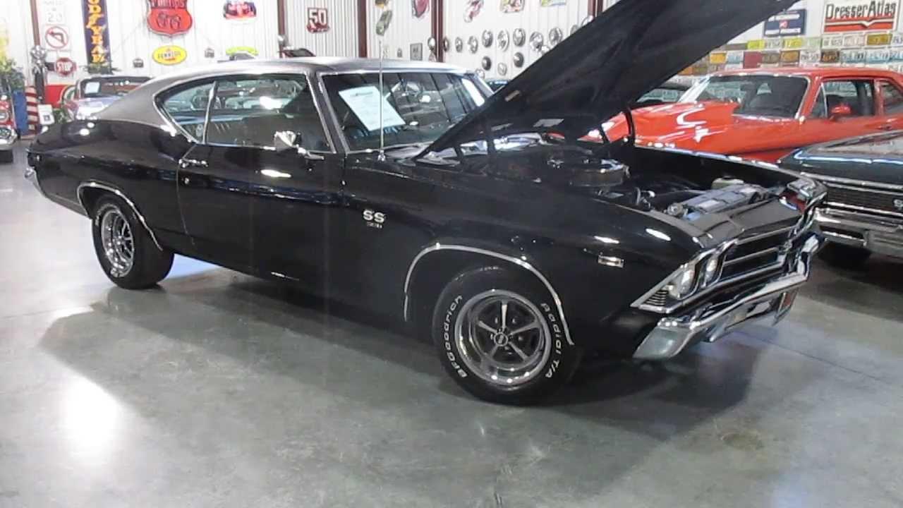 Triple R Motors >> ***SOLD*** 1969 Chevelle, 396, 4 Speed, triple black, For Sale Passing Lane Motors - YouTube
