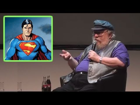 George RR Martin on his Problems with Superheroes