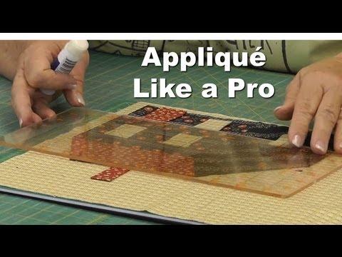 Appliqué Like a Pro!  Part 1/4 - Rectangles & Appliqué Basics