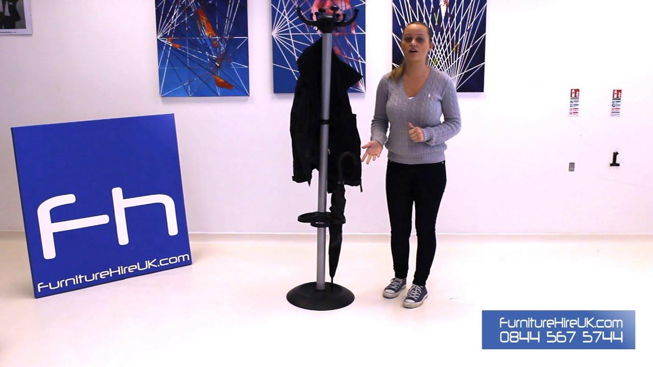 Coat Stand Demo - Furniture Hire UK