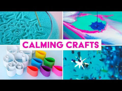 Calming Crafts | Things to Help You Relax & De-Stress | Sea Lemon