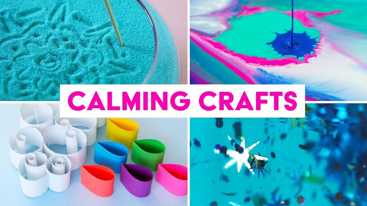 Calming Crafts Things To Help You Relax De Stress Sea Lemon