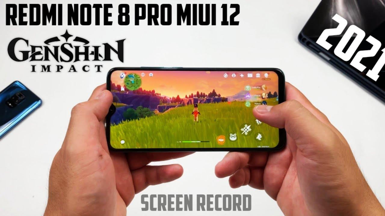 Redmi Note 8 Pro MIUI 12 Gaming Test Genshin Impact at ...