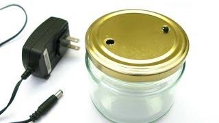 5 Minute LED Jar (Weekend Project #3)
