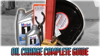 How To Change Your Oil (Complete Guide )