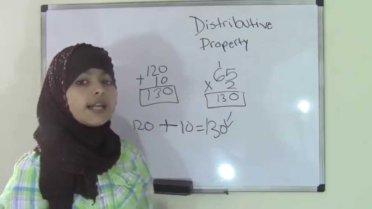 Worksheet Distributive Property For 5th Grade 5th grade math distributive property youtube property