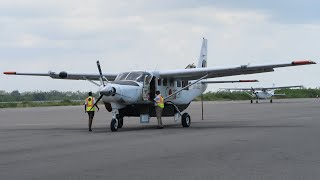Cessna 208B Grand Caravan ак Coastal Aviation Рейс Дар-Эс-Салам - Занзибар