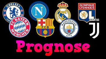 CHAMPIONS LEAGUE PROGNOSE (ACHTELFINALE 2020) ⚽💸