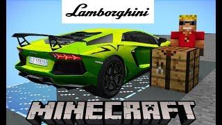 Бедняк сделал AVENTADOR SV за 2.000.000$ в Майнкрафт! Lamborghini Автомагия