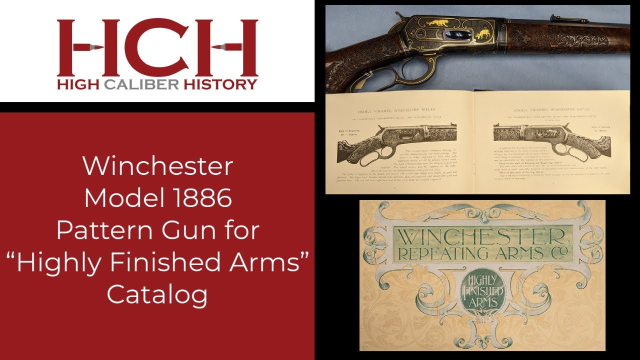 Winchester Model 1886 from the Highly Finished Arms Catalog