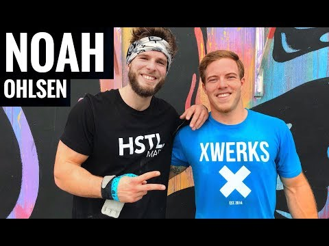 Training with NOAH OHLSEN // DAY IN THE LIFE