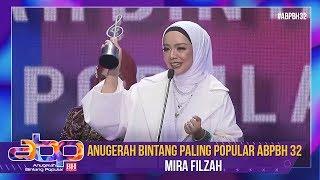 Mira Filzah - Anugerah Bintang Paling Popular ABPBH 32 | #ABPBH32