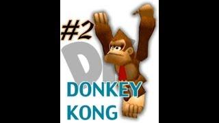 Super Smash Bros - #2 [ SÚPER DIFÍCIL ] / (Donkey kong)