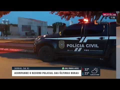 Homem é assassinado nesta madrugada em Lucas do Rio Verde