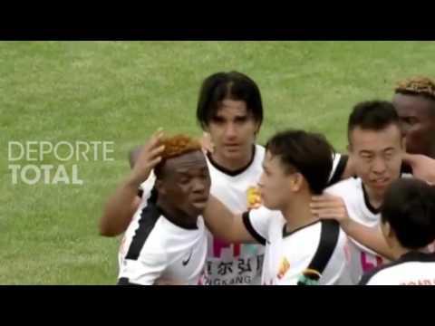 Bolivianos For Export | Marcelo Martins anota su 11vo gol en el Wuhan Zall