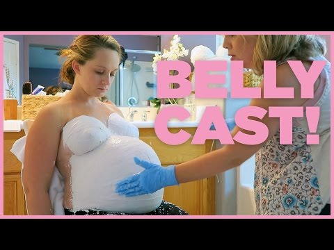 PREGNANT BELLY CAST! – 36 Weeks Pregnant