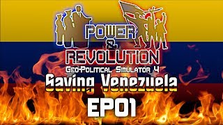Geopolitical Simulator 4: Power and Revolution | Venezuela | EP01