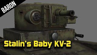 War Thunder - Baby KV-2, Stalin