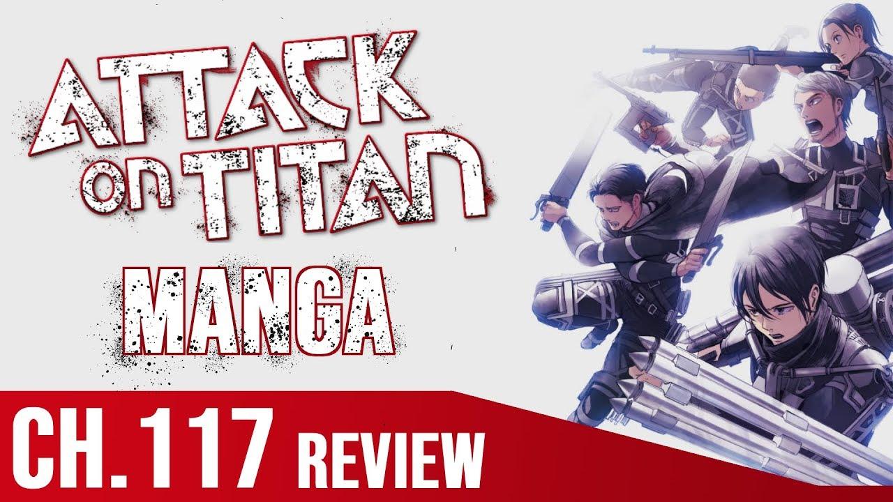 Attack on Titan Kapitel 117 Manga Review | Deutsch/German ...