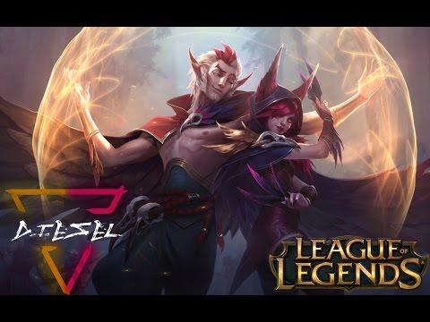 Cosmic Xayah&Rakan első látásra! | League Of Legends | Diesel