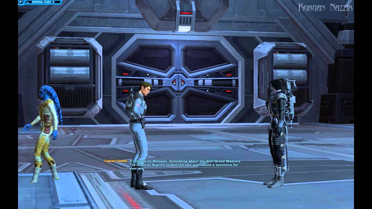 SWTOR - Picking Up Section X Quest (Agent) - YouTube