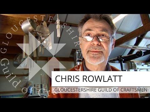 Chris Rowlatt   Bookbinder & Paper Marbler   The Gloucestershire Guild Of Craftsmen