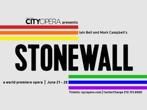 A Sneak Peek Of New York City Opera's World Premiere Production Of STONEWALL