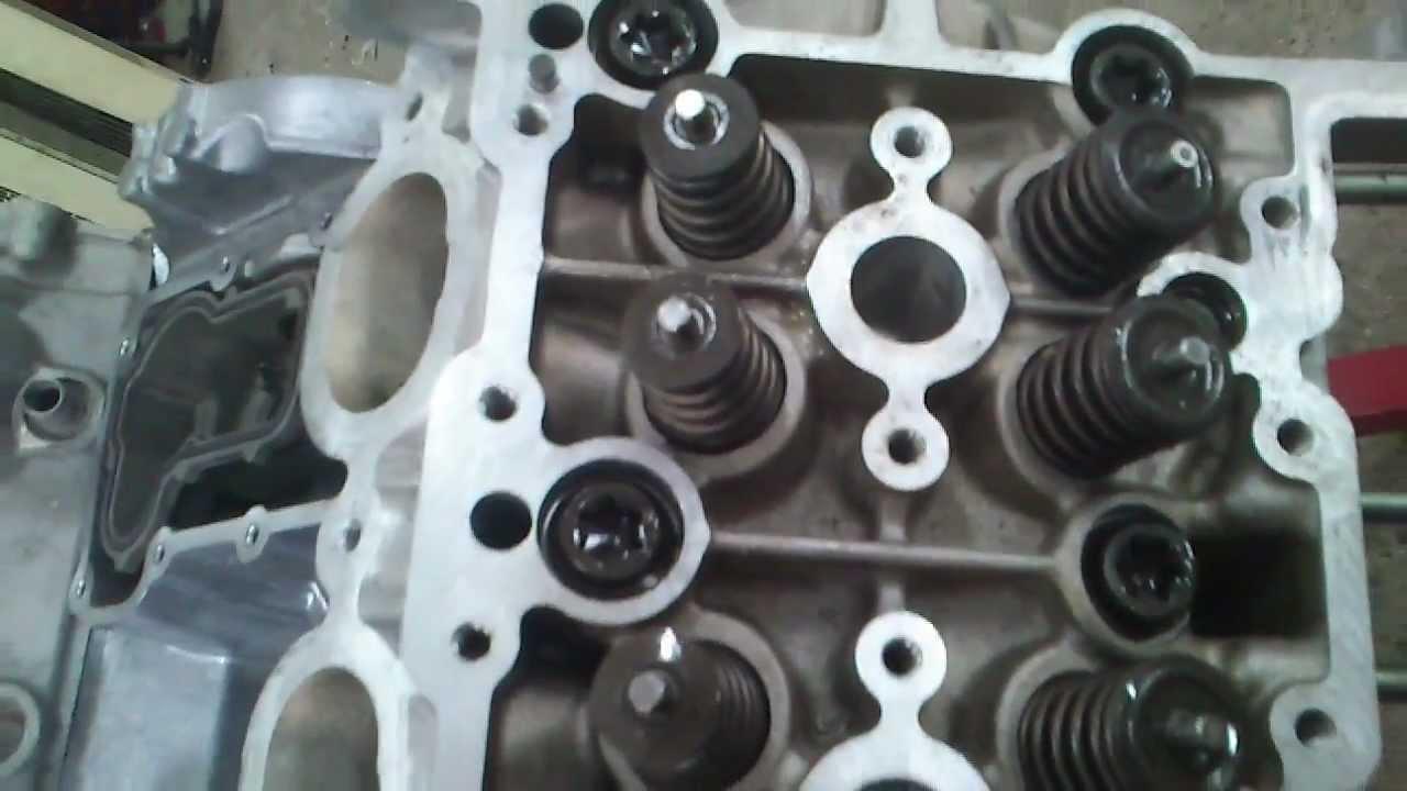 Сборка двигателя Porsche Cayenne