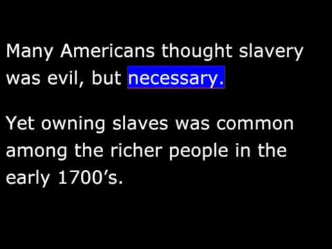 American History - Part 008 - Slavery In The American South -