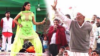 Sapna Aur Tau ke Thumke || सपना और ताऊ के ठुमके || Live Dance New Haryanvi Song 2017
