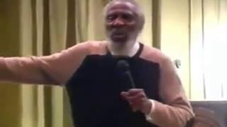 DICK GREGORY SPEAKS