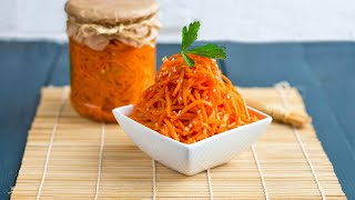 Морковь по-корейски — видео рецепт