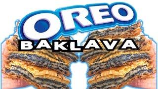 HOW TO MAKE OREO BAKLAVA