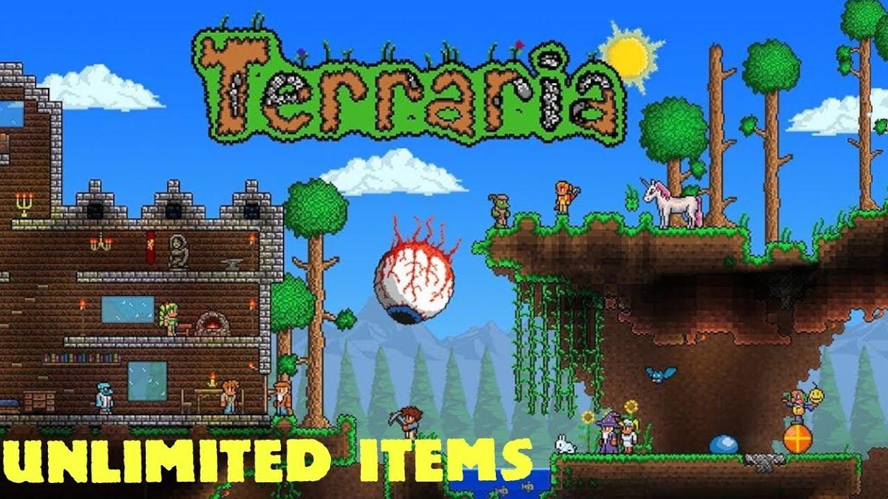 Terraria Plug Unlimited Items ! - No Jailbreak No Computer